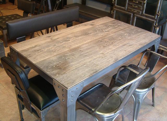 Table Industrielle Modle Rivets