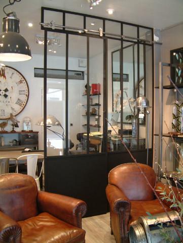 Au magasin notre mod le d 39 exposition verri re d - Modele verriere interieur ...