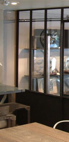 Au magasin notre mod le d 39 exposition verri re d for Modele verriere interieur