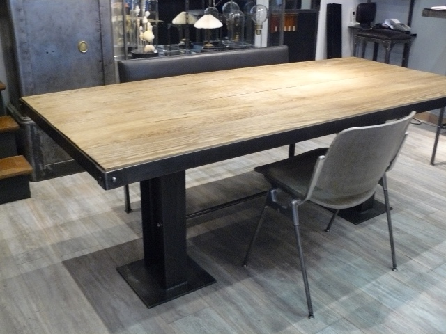 Table pieds ipn nos cr ations akr akr french design - Fabriquer pied de table ...