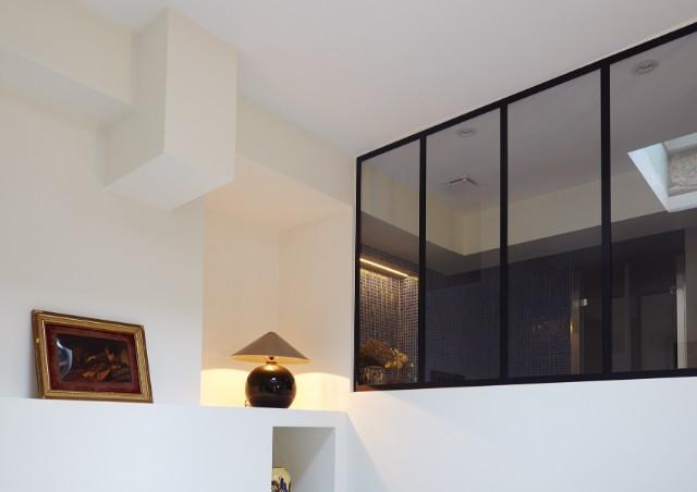 Verrière chambre salle de bains - Verrière d\'intérieur atelier - AKR ...