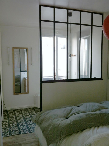 verri re d 39 appartement chambre salle de bains verri re d 39 int rieur atelier akr french. Black Bedroom Furniture Sets. Home Design Ideas