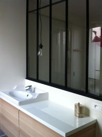 Verrière d\'appartement : chambre / salle de bains - Verrière d ...