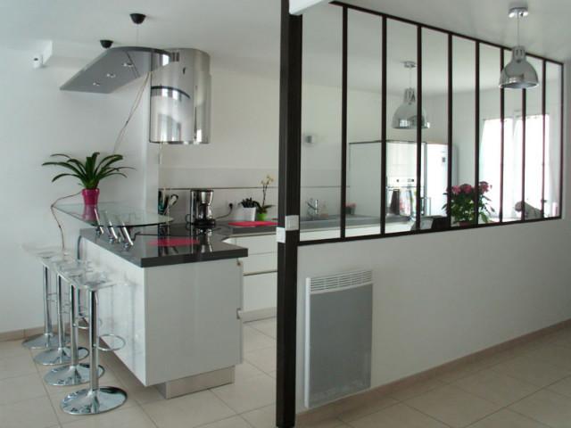 Verrière d\'appartement : cuisine / couloir - Verrière d\'intérieur ...