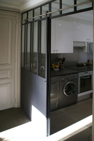Verrière d\'appartement : cuisine / entrée - Verrière d ...