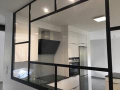 Verrière d\'atelier pour cuisine - Verrière d\'intérieur atelier - AKR ...
