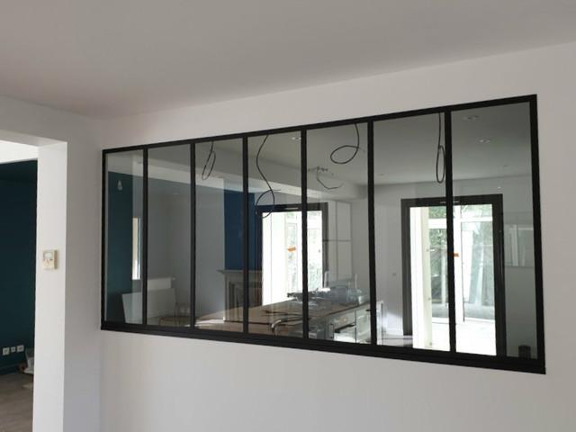 Verriere D Interieur Entre Cuisine Salon Akr French Design